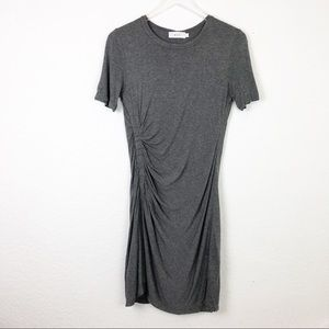 A.L.C. | Gray Ruched Sally Dress Size Small